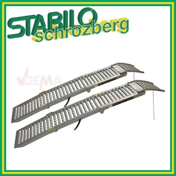 Auffahrrampe/Verladerampe/Schine/Rampe/Auffahrschiene 2 Stk. klappbar NEU 914236