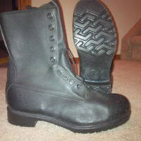 Canadian Military combat boots