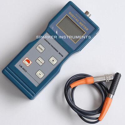 Cm8821 New Digital Paint Coating Thickness Meter Gauge F Probes 01000m Landtek