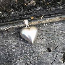 Sterling silver heart pendant Gosnells Gosnells Area Preview