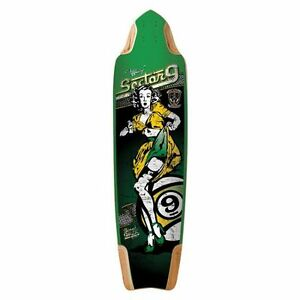 NEW Sector 9 board - Tiffany Downhill Division deck with grip.