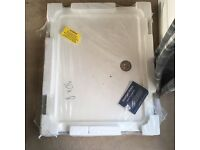Shower Tray with Plug Stone Resin Mix 100x80cm BRAND NEW IN PACKAGING