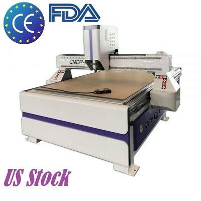 3kw Cnc Router Engraver Engraving Drilling Machine With Vacuum Table 1300x2500mm