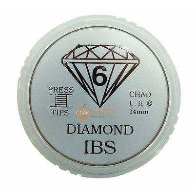 50pcs [IBS] 6 Layers 14mm compression tips Billiards Pool Cue Snooker KOREA