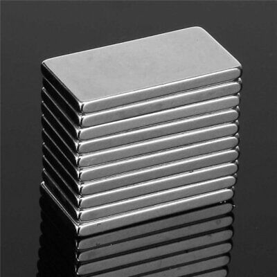 20x10x2mm Strong Magnets N52 Grade Neodymium Block Small Thin Rectangle Magnet