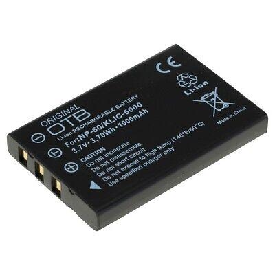 Akku kompatibel zu Fuji NP-60 NP60 für Fuji Finepi Aiptek PocketD Kodak EasyShar