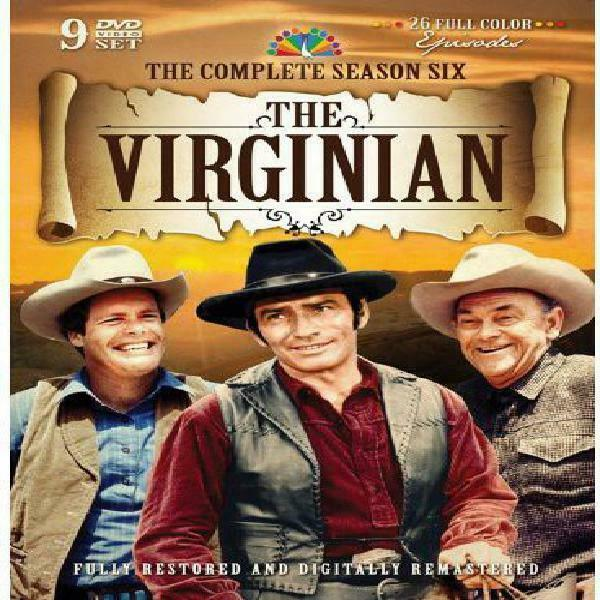 The Virginian The Complete Sixth Season Dvd  - $45.06