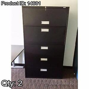 File Cabinets, 5 Drawer Lateral Style, Assorted Brands, Starting at $325 each