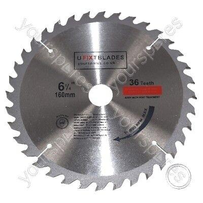 Circular Saw Blades 160mm X 20mm Tct 36 Tungsten Carbide Teeth Fits Metabo
