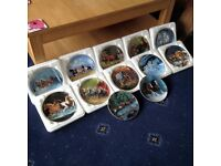 Horse for all seasons plate collection