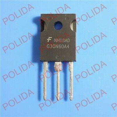10pcs Igbt Transistor Fairchildintersilharris Hgtg30n60a4 G30n60a4 30n60
