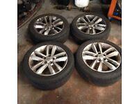 Vauxhall vectra Sri alloys