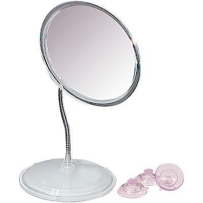 Zadro 7X Vanity or Wall Mount Gooseneck Magnifying Mirror 7' Gooseneck Wall Mount
