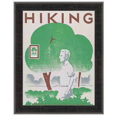 USPS New WPA - Hiking Framed Art