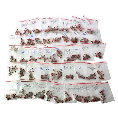 1000 Pcs Set 50 Values 50v Ceramic Capacitor Assorted Kits Assortment Hot Sale