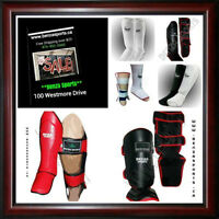 BENZA SHIN PADS ON SALE STARTING AT $9.99 + FREE SHIPPING!!
