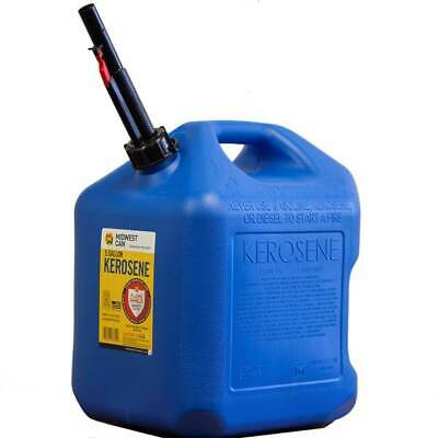 Midwest Can Co 7610 5 Gallon Kerosene Can W Flameshield Shut Off Spout