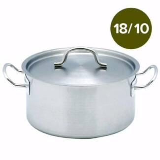 18/10 Stainless Steel Stock Pots Comes Top Commercial Grade
