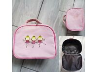 Girl's dance bag & accessories - dance bag, ballet shoes size 11.5, ballet outfit size 4 - 6 yr