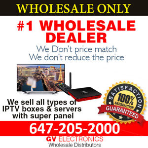 IPTV RESELLER | WHOLE SALE | MAG-BUZZTV-DREAMLINK- AVOV-GLOBAL