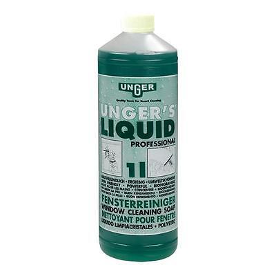Unger FR100 Unger´s Liquid 1 Liter Fensterreiniger-Seife Glasreiniger