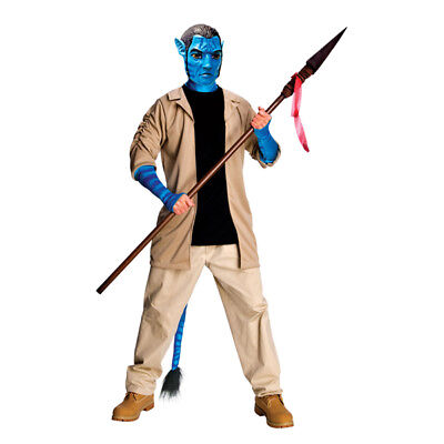 Avatar Jake Sully Deluxe adult men's costume](Adult Sully Costume)