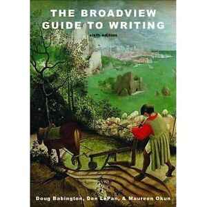 Broadview Guide to Writing 6th Edition