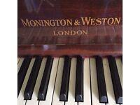 Monington and weston