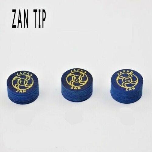 ZAN PLUS 14 MM CUE TIPS-FREE SHIPPING
