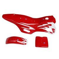 Hmparts Sporco / Box Bici / Mini Cross 49 Ccm Pannello Set Rosso -  - ebay.it