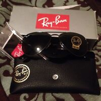 BNWOT Authentic Ray-Ban aviators for sale or trade
