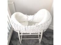 Mamas & Papas, Welcome to the world Moses Basket & Rocking Stand