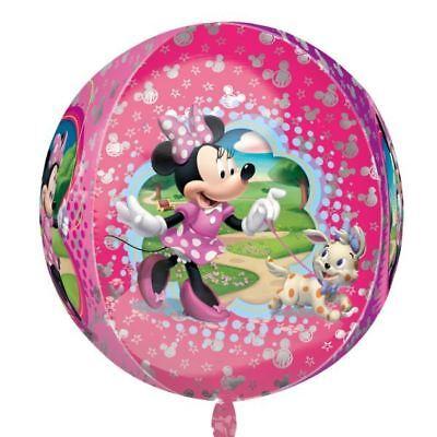 Minnie Maus Rosa Disney Orbz Ballon 38cm X 40cm Globe Ball Folienballon