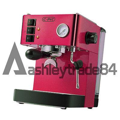 Commercial 220V Semi-automatic Pump 15bar High Pressure Espresso Coffee Machine