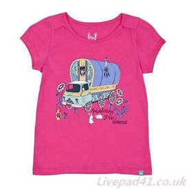 Girls t shirt animal Betsy Bus