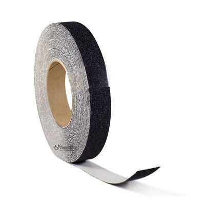 1 X 60ft Black Roll Safety Non Skid Tape Anti Slip Tape Sticker Grip Safe Grit