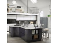 High Gloss Kitchen units