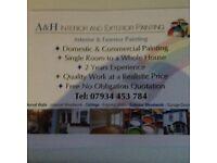 Domestic & commercial painting