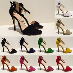 New-Girls-High-Heels-Stilettos-Open-Toe-Ankle-Strap-Wedges-Platform-Sexy-Sandals