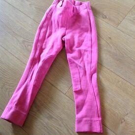 Pink jodhpurs