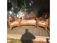 Old oak chairs