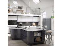 HIGH GLOSS RANGE KITCHEN