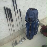 Golf clubs 2 sets great for cabin