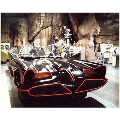 Batman Adam West in Batcave by Batmobile 8 x 10 Inch Photo