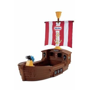 Little Tikes Pirate Ship Bed and Mattress Cambridge Kitchener Area image 2