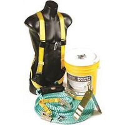 New Quailcraft 00830 Bucket Kit Safety Harness Roofers Bos-r25 Kit 9063272