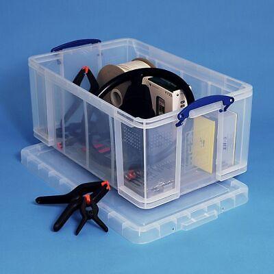 Really Useful Box 64 Liter große Aufbewahrungsbox für Dachboden Ordner Archivbox