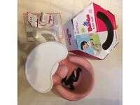 Bumboo baby seat pink