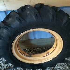 New Tractor Grip Tire