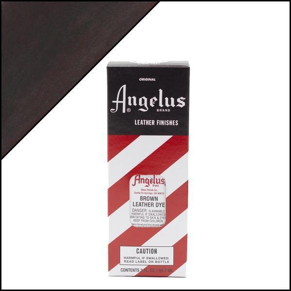 Angelus BROWN Leather Dye 3 oz. with Applicator for Shoes Boots Bags NEW Crafts